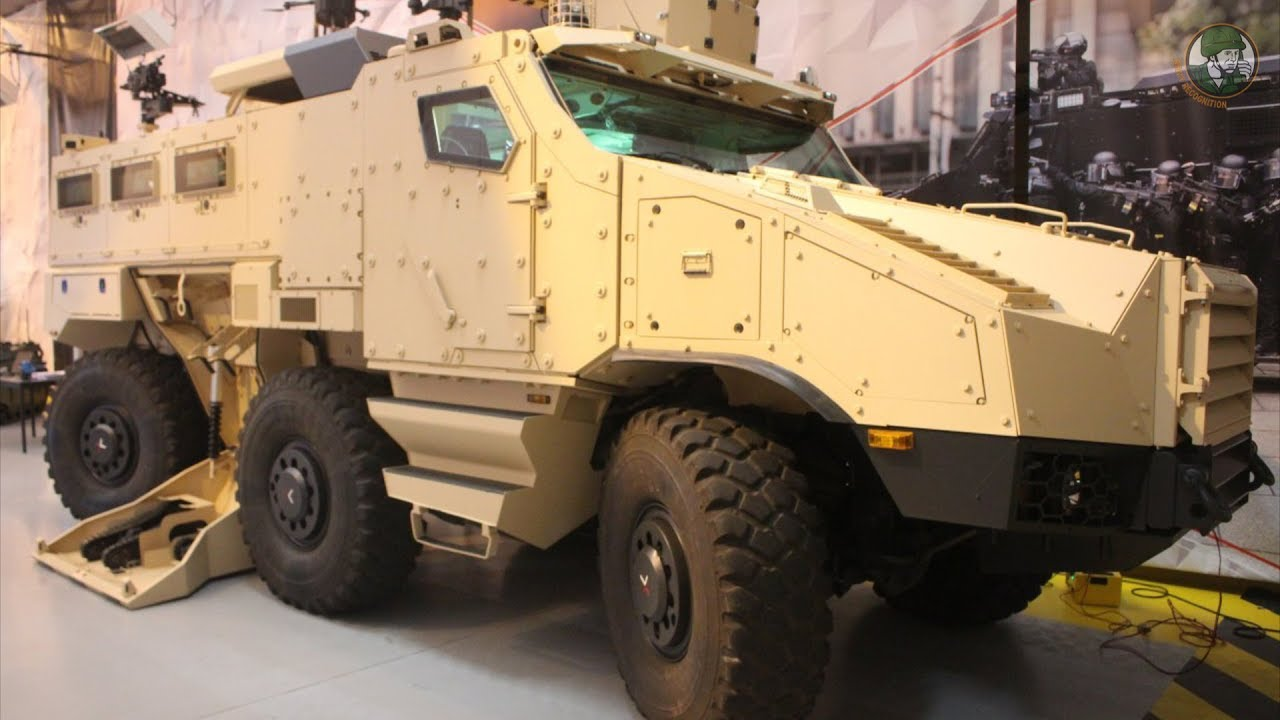 Introducing Nexter's new Titus 6x6 Augmented Mission Vehicle and Armed UGV  project