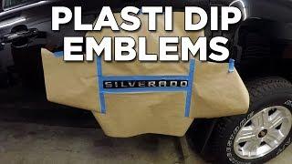 How To Plasti Dip Silverado Emblems And Badges