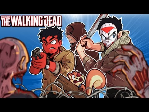 Overkill's The Walking Dead - ZOMBIES EVERYWHERE!!!! 4 Player co-op!