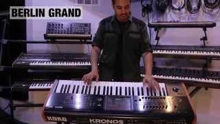 KORG KRONOS Workstation Keyboard - The Gear Gods Review