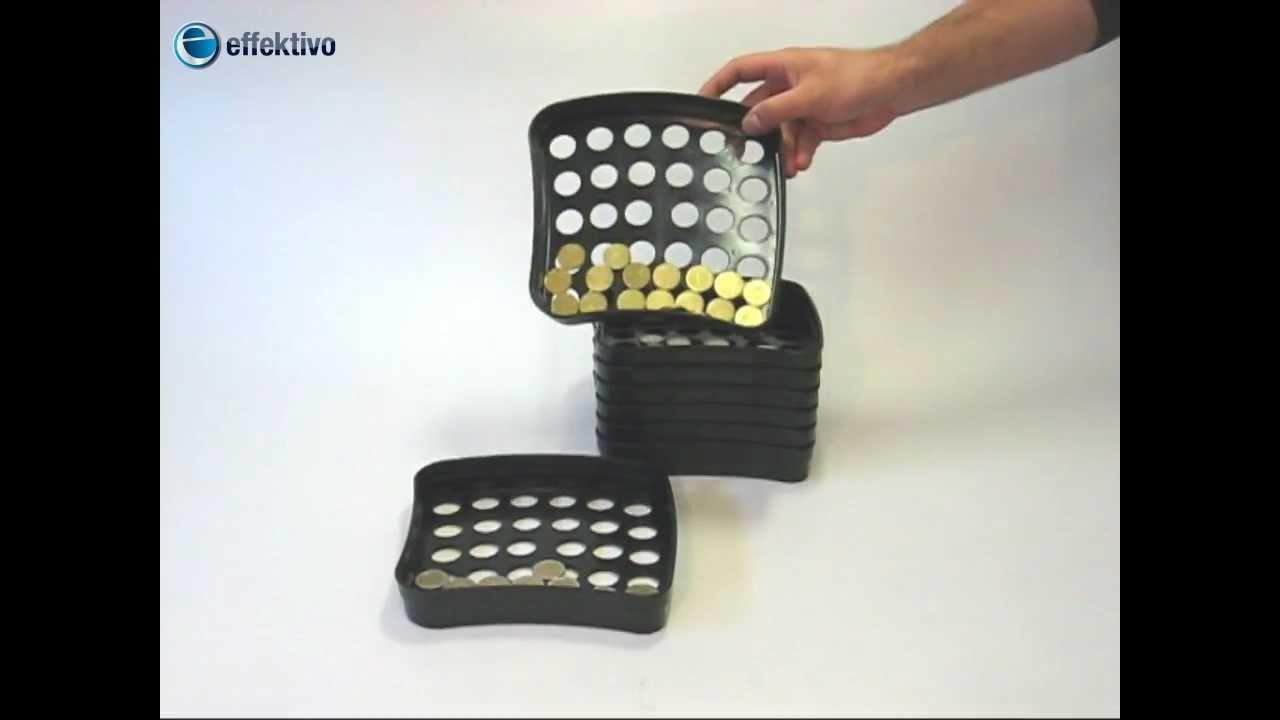 Euro Münzen Sortieren Manueller Münzsortierer Coin Sorter Youtube