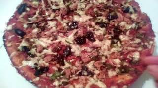 بيتزا سائلة سهلة وسريعة بمكونات بسيطة رائعة
