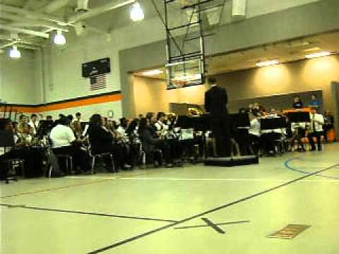 Baldwin County High School concert at Bay Minette Middle School