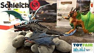 NY TOY FAIR 2017 SCHLEICH DRAGONS, DINOSAURS, FARM WORLD