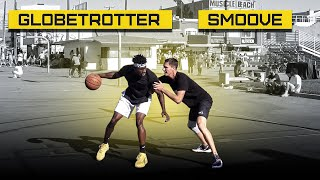 1 на 1 с Игроком Harlem Globetrotters | Smoove