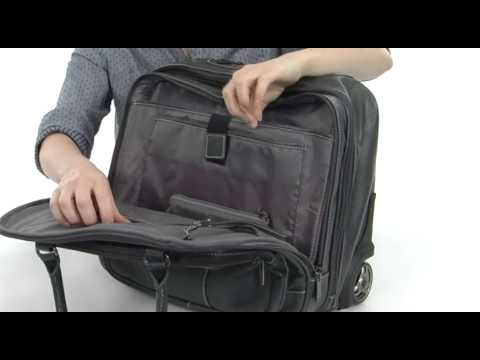f15d8cac74e4 Kenneth Cole Reaction Pebbeled Vinyl Double Gusset Top-Zip Wheeled Computer  Case SKU  8309502