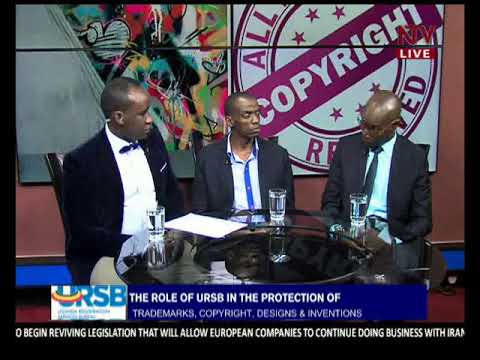 INTELLECUAL PROPERTY RIGHTS TALKSHOW URSB 18TH MAY 2018