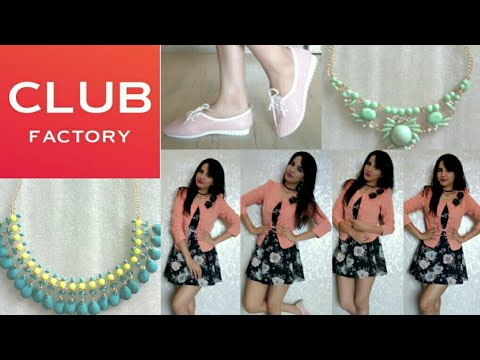 Club Factory Try On Haul | Clothing | Shoes | Jewellery | Online Shopping | Discount Code |