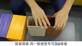 Thickened Combined Plastic Parts Cabinet Drawer Type Component Box