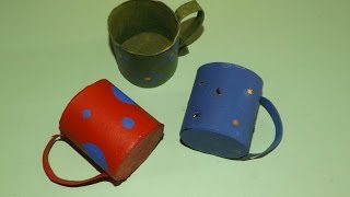How To Make A Toy Cup From A Toilet Paper Roll