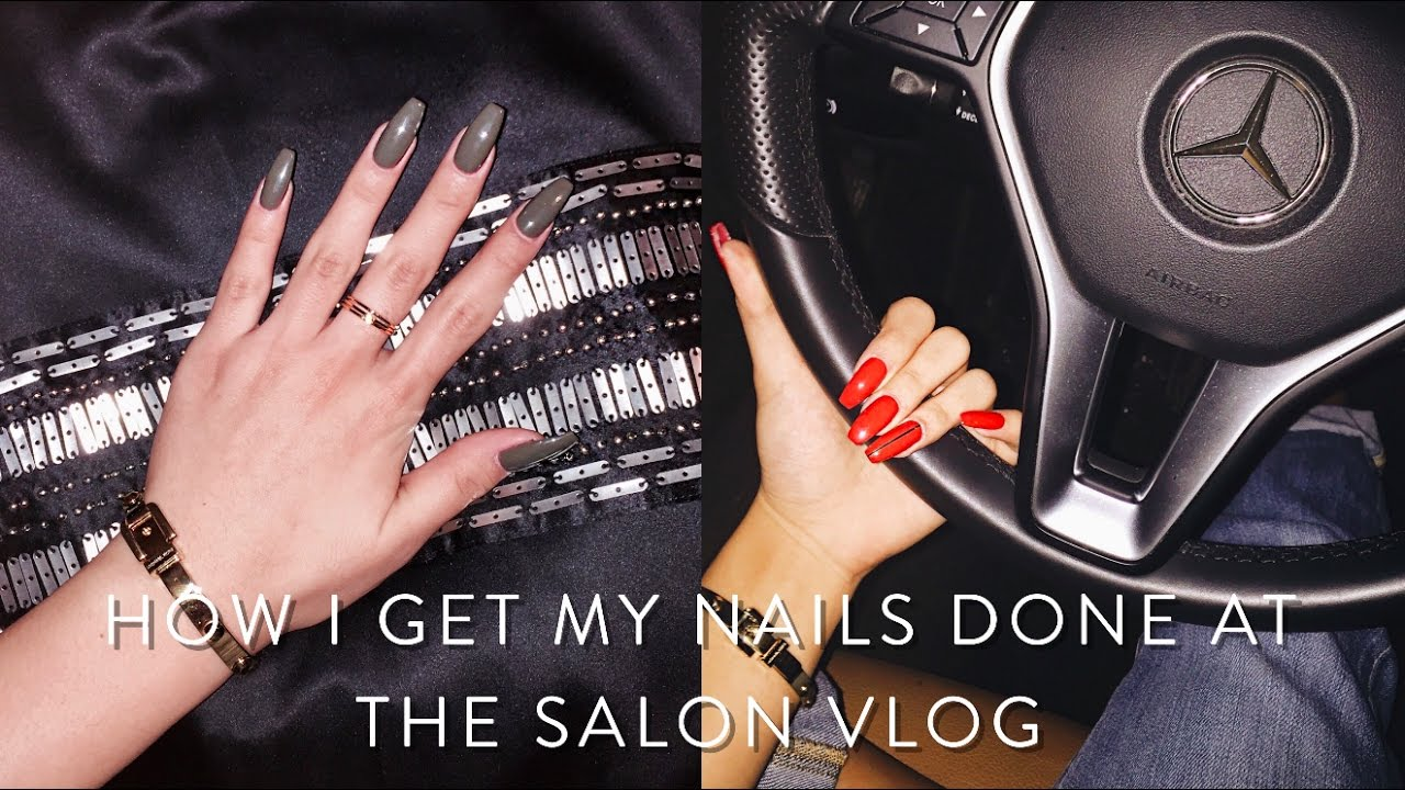 COME WITH ME TO GET MY NAILS DONE - YouTube