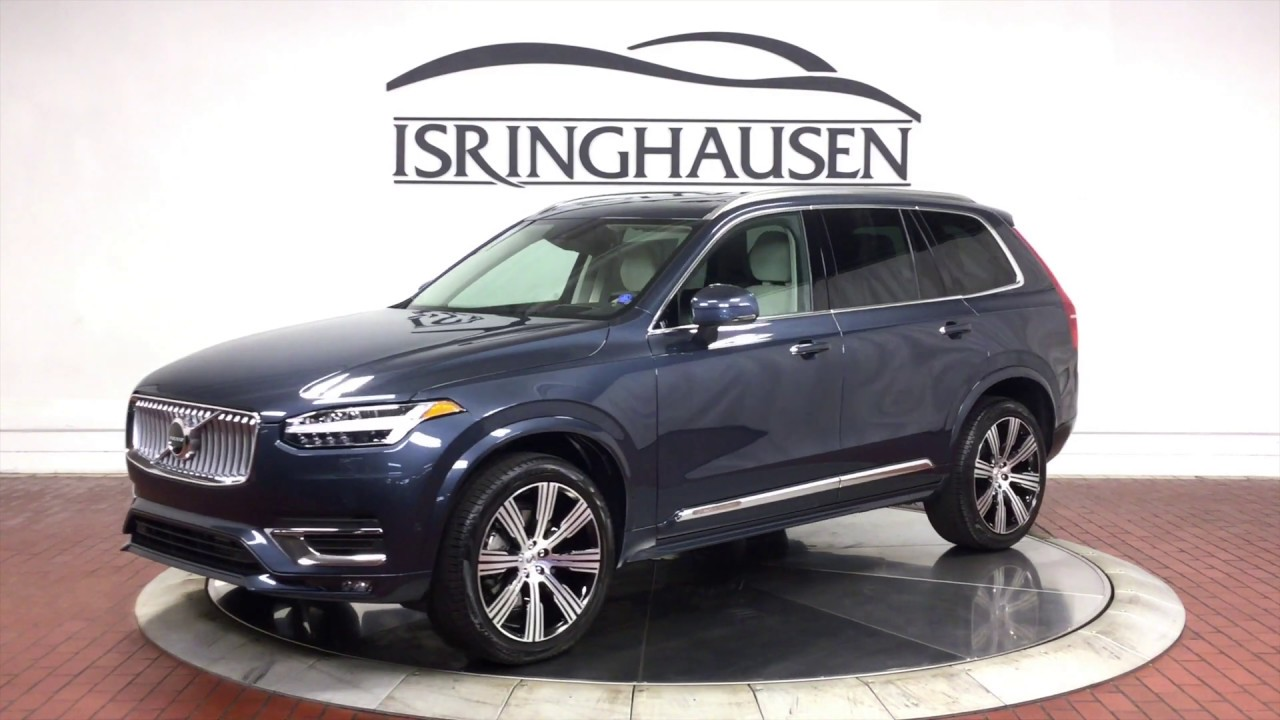 2020 volvo xc90 t6 awd inscription in denim blue metallic - 537741
