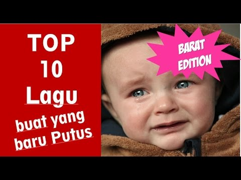 [List Asaljeplak] Top 10 Lagu Putus Cinta (Barat Edition)