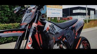 KTM 530 EXC Bike reveal! (supermoto)