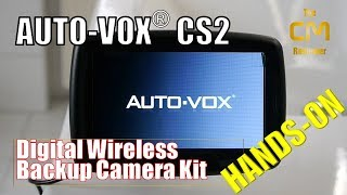 AUTO-VOX CS2 Test: Digital Wireless Backup Camera Kit - Wi-Fi Rückf...