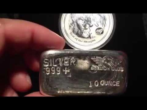 10 ounce bullion club bar