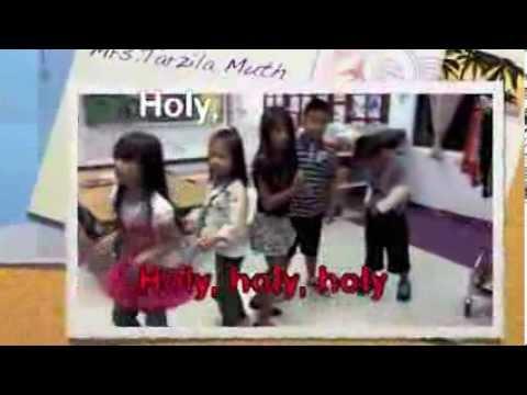 Open the eyes of my heart Lord Karaoke(Finegayan Elementary School Kindergarten room#112