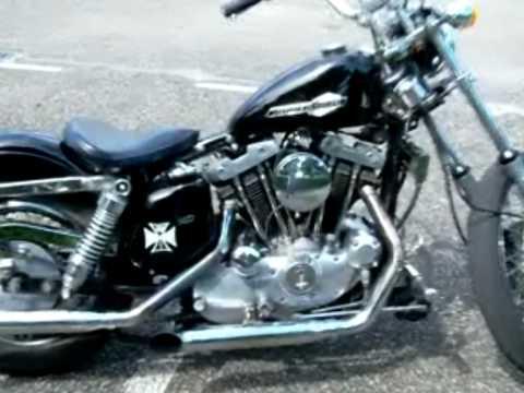 Henk's legend Ironhead  Harley Davidson Sportster 1000