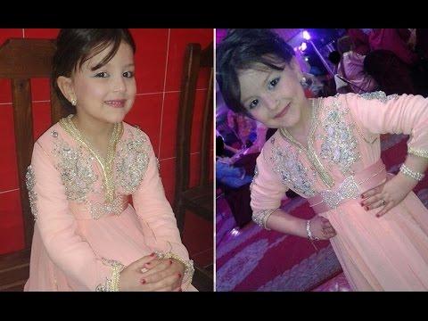 b643ee387 صور قفطان مغربي للاطفال - moroccan caftan for kids 2016 - YouTube