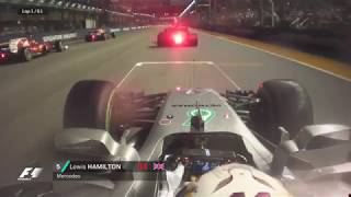 2017 Singapore Grand Prix: Best Onboards