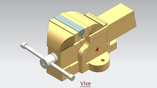 Vise (Volume-1) Video Tutorial -- Siemens NX