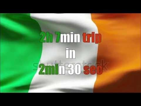 Dublin-Belfast time lapse