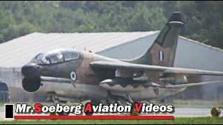beautiful departure volkel airshow 2013 2x corsair ii hellenic air force