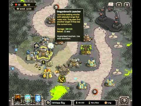Kingdom Rush Rotten Forest Iron Challenge Doovi