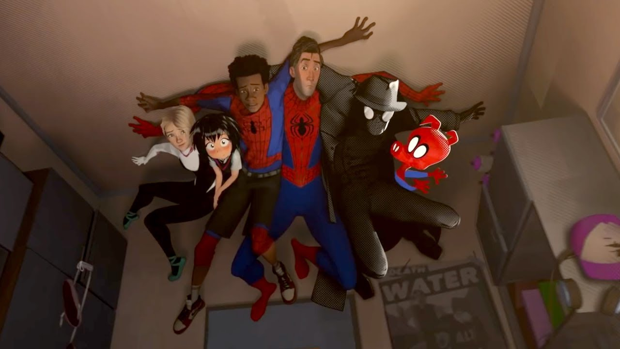 'spider-man: into the spider-verse' official trailer #2 (2018) | shameik  moore, mahershala ali