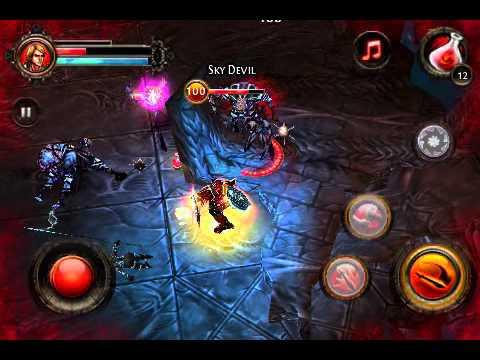 Dungeon Hunter 2 - Level 100 Berserker : Low HP Build