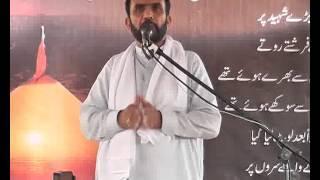 Maulana Manzoor Hussain Jawadi biyan Zaraoriyat e Shia  majlis jalsa 2015 Sultan al Madaris Sargodha