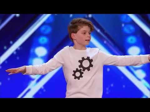 Kid dances to Oofer Gang on America's Got Talent