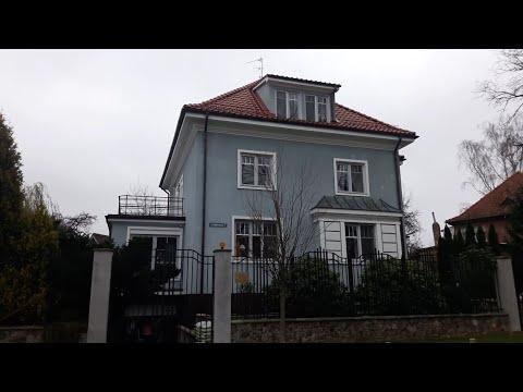 Старый район Кёнигсберга Марауненхоф и дом Евгения Гришковца.