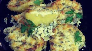 Раз картошка Два картошка Очень вкусный ароматный картофель под чесночным соусом
