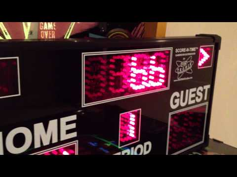 Game Room Scoreboard Demo