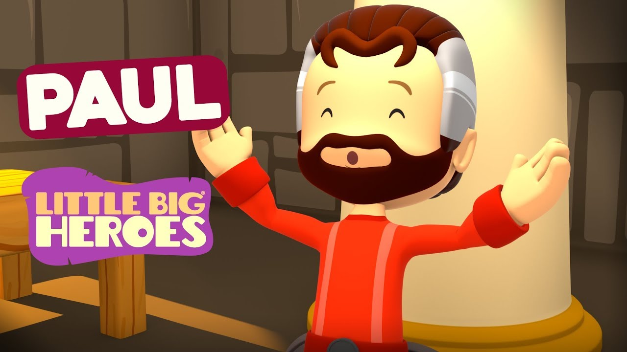 Paul - Bible Stories for Kids - Little Big Heroes