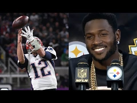 Antonio Brown TROLLS Tom Butter Fingers Brady for Dropping Wide Open Trick Play Pass