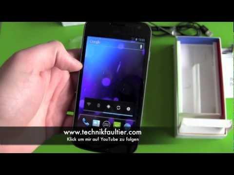 Samsung Nexus setup deutsch