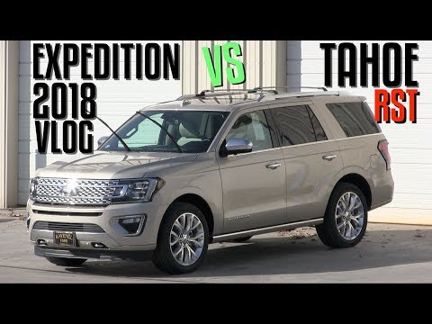 🔴 NEW 2018 Ford Expedition Platinum VS 2018 Chevy Tahoe RST | Plus Feat: 2018 GT Mustang - AutoVlog