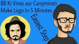 Carryminati ve Android | Hintçe | BB Ki Sarmaşıklar Gibi Vektör Görüntü Logo Tam İzah Yapmak nasıl