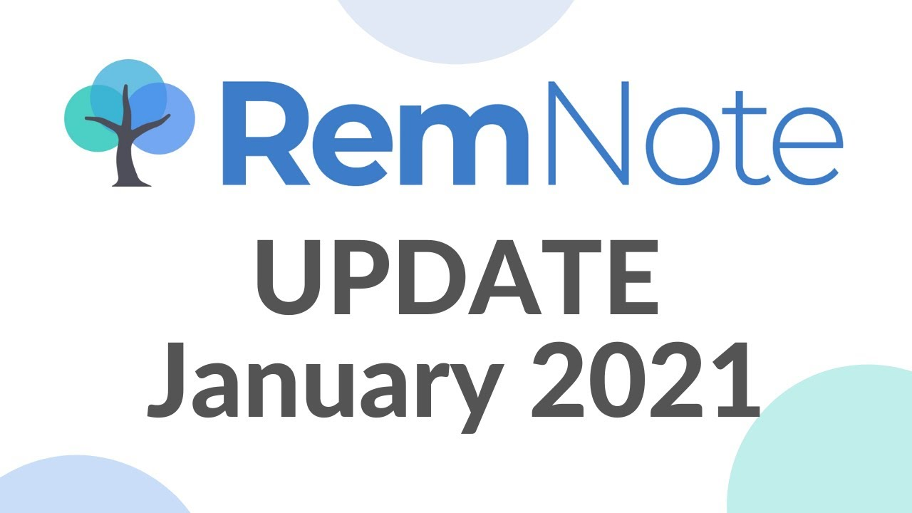 RemNote 1.1 Update (January 7th, 2021)