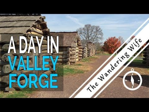 Philadelphia: Day Trip to  Valley Forge | TRAVEL VLOG #0005