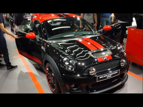 Mini John Cooper Works Coupé 2017 In Detail Review Walkaround Interior Exterior