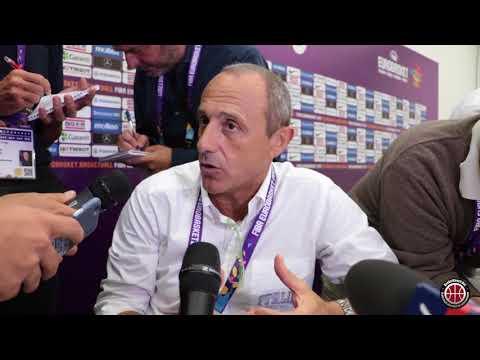 Basket Coach: Ettore Messina post partita Italia-Finlandia