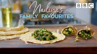 Spinach & Paneer Kati Rolls | Nadiya's Family Favourites - BBC