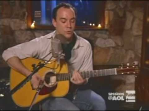 Dave Matthews - AOL Sessions - Crush