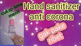 (tutorial) cara membuat hand sanitizer sendiri / anti corona