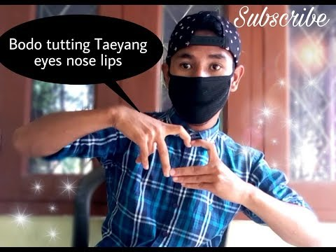 Lyrical Tutting tutorial |Taeyang-Eyes Nose Lips Cover song Bodo|Nwjwr Band||by Angshuman Basumatary