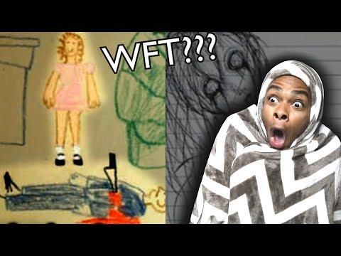 Thumbnail: CREEPIEST CHILDREN'S DRAWINGS PART 4