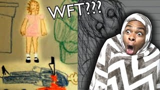 Scary Children Drawings Horror Movies